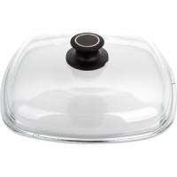 Крышка квадратная 26 см AMT Gastroguss Glass