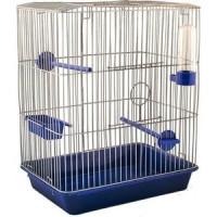 Клетка N1 33х24х40см канарейка, цветная, укомплектованная для птиц