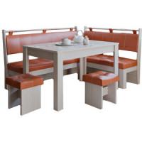 Кухонный уголок Это мебель Остин дуб белфорд/персик