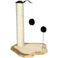 Когтеточка TRIXIE Столбик на подставке с игрушками