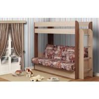 Кровать   чердак с диван