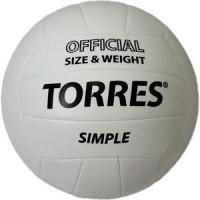 Мяч волейбольный Torres любительский Simple арт. V30105,