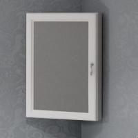 Зеркальный шкаф Opadiris Клио 45 угловой, левый,