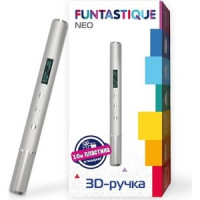 3D ручкa Funtastique FPN02S серебристый