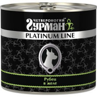 Консервы Четвероногий гурман Platinum Line рубец