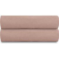 Простыня  цвета пыльной розы 240х270 Tkano Essential