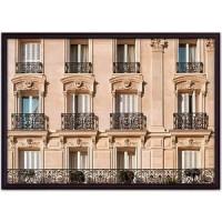 Постер в рамке Дом Корлеоне Окна Парижа