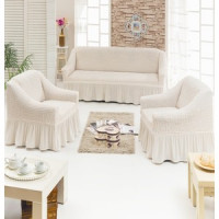 Набор чехлов для мягкой мебели 3 предмета