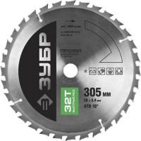 Диск пильный Зубр 305х30 мм 32Т (36850