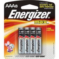Батарейка ENERGIZER (8шт) MAX AAA/ BP8