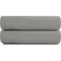 Простыня  серого цвета 240х270 Tkano Essential (TK18