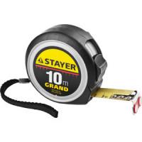 Рулетка Stayer Grand 10м/25мм (3411 10 25)