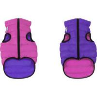 Курточка CoLLaR AiryVest двухсторонняя розово фиолетовая размер