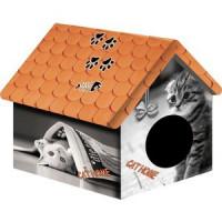 Домик PerseiLine Дизайн Кошка с газетой