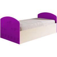 Кровать Миф Юниор 2 фиолетовый глянец.