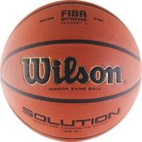 Мяч баскетбольный Wilson Solution (B0686X) р.6 FIBA