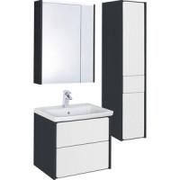 Мебель для ванной Roca Ronda 60 антрацит/белый