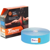 Тейп кинезиологический Tmax 32m Extra Sticky Blue
