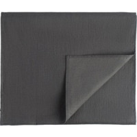 Дорожка на стол темно серого цвета 45х150