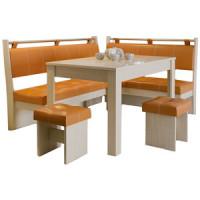 Кухонный уголок Это мебель Остин дуб белфорд/оранж