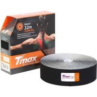 Тейп кинезиологический Tmax 32m Extra Sticky Black