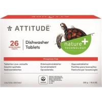 Таблетки для посудомоечной машины (ПММ) ATTITUDE