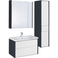 Мебель для ванной Roca Ronda 70 антрацит/белый
