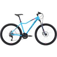 Велосипед Stark Viva 27.4 D (2019) голубой/серый/розовый 18''