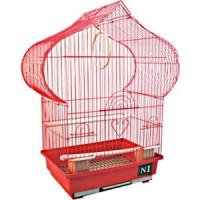 Клетка N1 30х22,5х50см пагода, укомплектованная для птиц