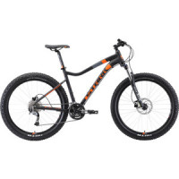 Велосипед Stark Tactic 27.5 + HD (2019) черный/оранжевый