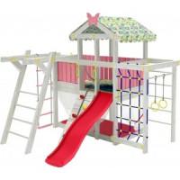 Детский домашний игровой комплекс Красная звезда чердак