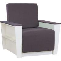 Кресло Шарм Дизайн Бруно 2 рогожка серый