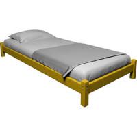 Кровать Anderson Ида желтая   80x190