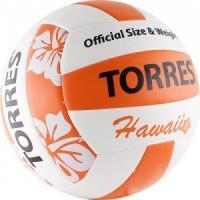 Мяч волейбольный Torres любительский (для пляжа) Hawaii арт.