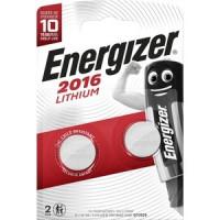 Батарейка ENERGIZER Lithium CR 2016 3V, таблетка