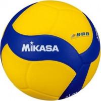Мяч волейбольный Mikasa VT500W, р.5, сине желтый