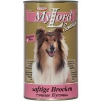 Консервы Dr.ALDER's MyLord Sensitive Softige Brocken сочные кусочки