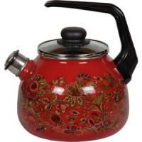 Чайник эмалированный со свистком 3.0 л Vitross