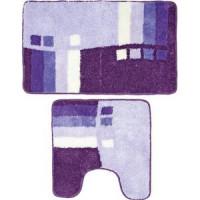 Коврики для ванной и туалета Milardo Meteora