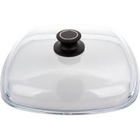Крышка квадратная 28 см AMT Gastroguss Glass