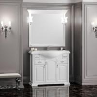 Мебель для ванной Opadiris Риспекто 105 белый матовый