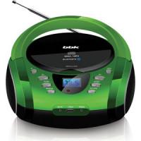 Магнитола BBK BX165BT black/green