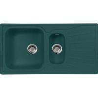 Кухонная мойка AquaGranitEx M 09K (305) зеленый