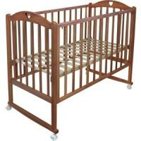 Кроватка Malika LAURA 1 колесо качалка