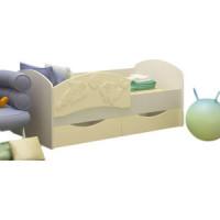 Кровать Регион 58 Дельфин 3 ваниль/белфор