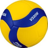 Мяч волейбольный Mikasa V330W р.5 официальные параметры FIVB