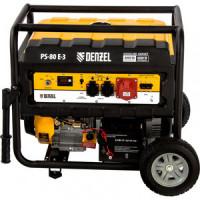 Генератор бензиновый DENZEL PS 80 E 3