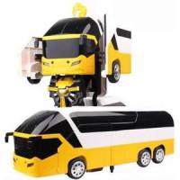 Радиоуправляемый трансформер MZ Model Желтый автобус 1:14