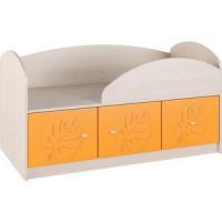 Кровать Compass МДМ 1К Оранжевый