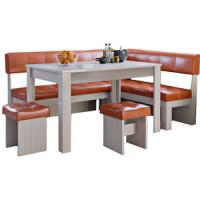 Кухонный уголок Это мебель Валенсия дуб белфорд/персик